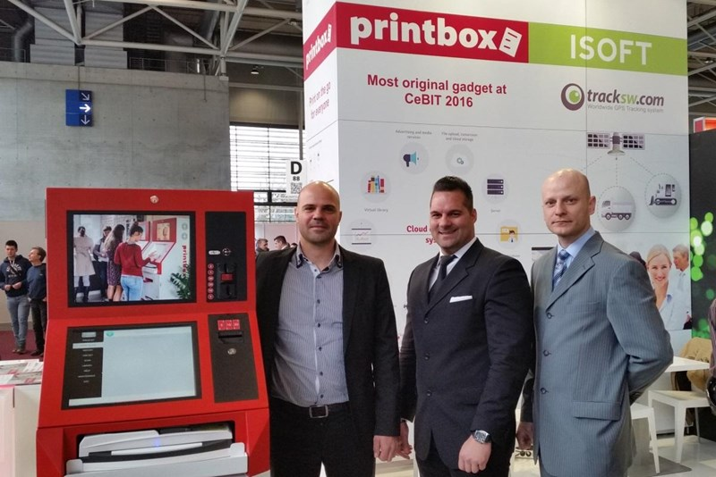 Printbox presentation at CeBIT 2016