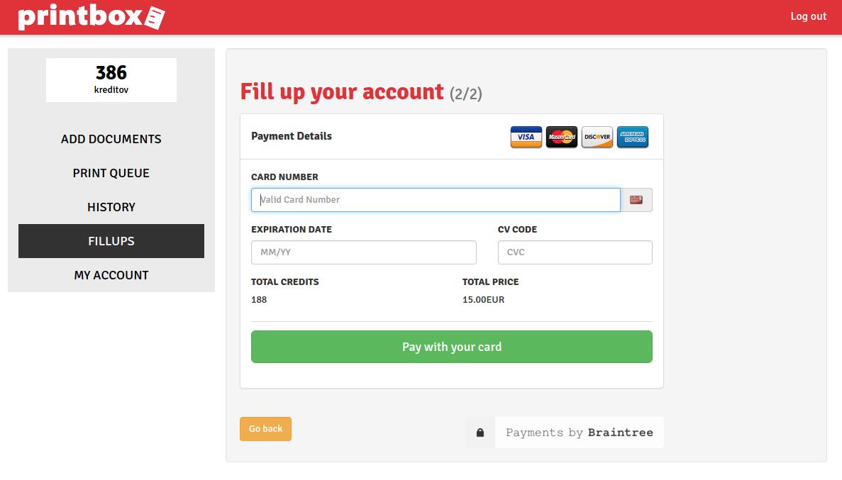 Virtual card moneta online dating